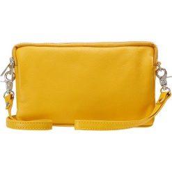 DEPECHE SMALL BAG Kopertówka yellow. Żółte puzderka marki DEPECHE. Za 369,00 zł.