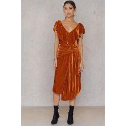 Sukienki: Aéryne Paris Sukienka Lexi – Orange,Copper