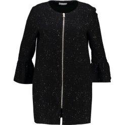 Płaszcze damskie pastelowe: Elvi COAT Krótki płaszcz black