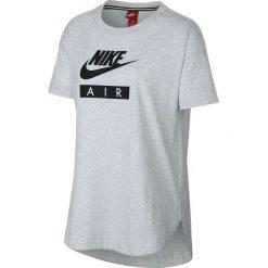 Koszulka Nike Wmns NSW Top Logo Air (AA1720-051). Czarne bluzki damskie marki Alpha Industries, z materiału. Za 79,99 zł.