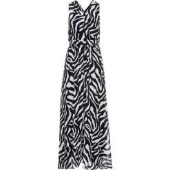 Sukienki hiszpanki: Sukienka wieczorowa bonprix czarno-biały zebra