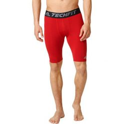 Spodenki i szorty męskie: Adidas Spodenki TF Base ST czerwony r. L (AJ5040)