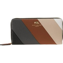 Portfele damskie: Kurt Geiger ZIP AROUND WALLET Portfel tan