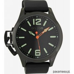 Zegarki męskie: Zegarek OOZOO Steel OS411 black/green lumi,