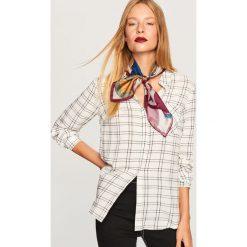Koszula z kieszonką piersiową - Wielobarwn. Szare koszule damskie Reserved. Za 69,99 zł.