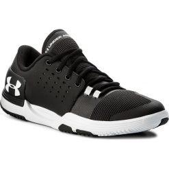 Buty UNDER ARMOUR - Ua Limitless Tr 3.0 1295776-001 Blk/Wht/Wht. Czarne buty fitness męskie marki Under Armour, z materiału. W wyprzedaży za 229,00 zł.