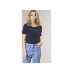 T-shirty z krótkim rękawem Benetton  AVILOL. Niebieskie t-shirty damskie marki Benetton, l. Za 55,20 zł.