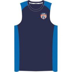 Huari Koszulka męska Peron Vest Medival Blue/ French Blue r. L. Niebieskie t-shirty męskie Huari, l. Za 47,12 zł.