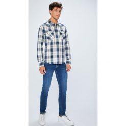 Pepe Jeans - Jeansy Hatch. Różowe jeansy męskie slim marki Pepe Jeans, z gumy, na sznurówki. Za 319,90 zł.
