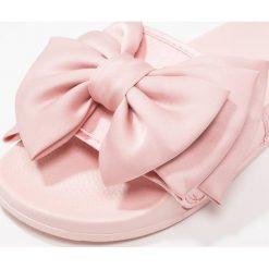 Chodaki damskie: Slydes PEEP Klapki pink