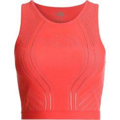The North Face FLIGHT  Top cayenne red. Czerwone topy sportowe damskie marki The North Face, l, z materiału. W wyprzedaży za 209,30 zł.