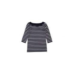Bluzki asymetryczne: bluzka damska TUNIKA klasyczna gładka, w paski