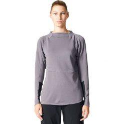 Bluzy rozpinane damskie: Adidas Bluza damska Terrex Climb The City Wool Crew szara r. 34 (B45689)