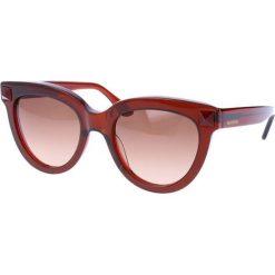 """Okulary przeciwsłoneczne damskie aviatory: Okulary przeciwsłoneczne """"V722S"""" w kolorze brązowym"""