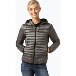 Superdry - Damska kurtka puchowa, szary. Szare kurtki damskie pikowane marki Superdry, l, z nadrukiem, z bawełny, z okrągłym kołnierzem. Za 499,95 zł.