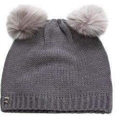 Czapka TWINSET - Cuffia AA7P3B  Grigio M 0082C. Czarne czapki zimowe damskie marki INOVIK, z elastanu. W wyprzedaży za 199,00 zł.