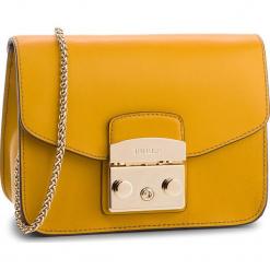 Torebka FURLA - Metropolis 978157 B BGZ7 VFO Ginestra e. Żółte torebki klasyczne damskie Furla, ze skóry, bez dodatków. Za 839,00 zł.