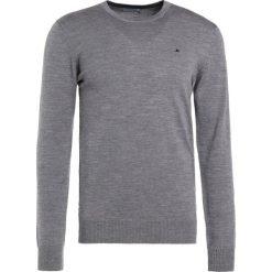 J.LINDEBERG LYLE TRUE MERINO Sweter grey melange. Szare swetry klasyczne męskie J.LINDEBERG, m, z materiału. Za 379,00 zł.