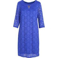 Kobaltowa Sukienka Street Dancer. Niebieskie sukienki marki Born2be, na jesień, street, midi. Za 59,99 zł.