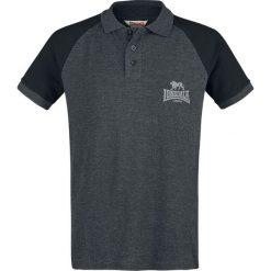 Lonsdale London Inhurst Koszulka Polo czarny (Anthracite)/czarny. Czarne koszulki polo marki Lonsdale London, l, z nadrukiem. Za 99,90 zł.