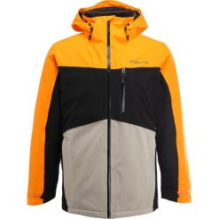 Columbia WILD CARD Kurtka narciarska solarize/black. Brązowe kurtki narciarskie męskie marki Columbia, m, z materiału. W wyprzedaży za 861,75 zł.