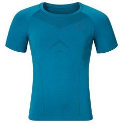 Odlo Koszulka męska Shirt s/s crew neck EVOLUTION LIGHT niebieska r. L  (184002). Szare koszulki sportowe męskie marki Odlo. Za 134,69 zł.