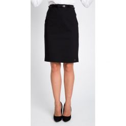 Spódnice wieczorowe: Czarna spódnica z paskiem QUIOSQUE
