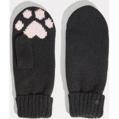 Rękawiczki z jednym palcem - Czarny. Czarne rękawiczki damskie marki Sinsay. Za 24,99 zł.
