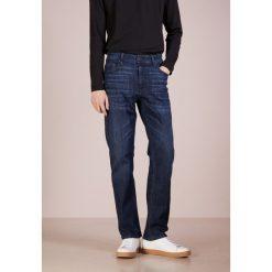 BOSS CASUAL ALBANY  Jeansy Straight Leg navy. Niebieskie jeansy męskie BOSS Casual. Za 509,00 zł.