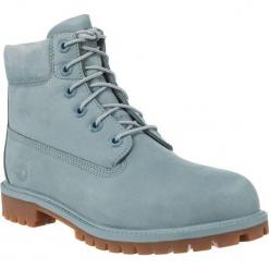 """Buty dzieciece 6"""" IN PREMIUM WP BOOT niebieskie r. 35.5. Niebieskie buciki niemowlęce marki Timberland, na zimę. Za 421,27 zł."""