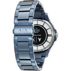 Armani Exchange Zegarek blau. Czarne zegarki męskie marki Armani Exchange, l, z materiału, z kapturem. Za 879,00 zł.
