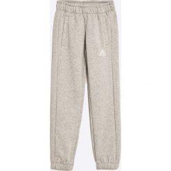 Adidas Performance - Spodnie dziecięce 128-164 cm. Szare spodnie chłopięce adidas Performance, z bawełny. W wyprzedaży za 119,90 zł.