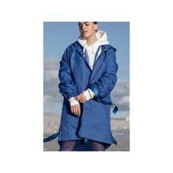Blue parka coat. Niebieskie parki damskie Rest_factory, l, z poliesteru. Za 349,90 zł.
