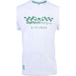 Koszulki sportowe męskie: PROJEKT 86 Koszulka T-shirt 002WT biała r. L (921361)
