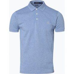 Polo Ralph Lauren - Męska koszulka polo, niebieski. Niebieskie koszulki polo Polo Ralph Lauren, m, z bawełny. Za 349,95 zł.