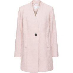 Płaszcz boucle bonprix dymny różowy. Czerwone płaszcze damskie bonprix. Za 124,99 zł.