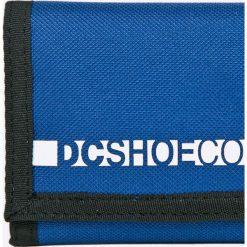 Dc - Portfel. Niebieskie portfele męskie DC. W wyprzedaży za 39,90 zł.