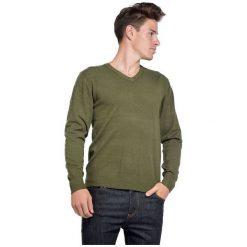 William De Faye Sweter Męski M Zielony. Czarne swetry klasyczne męskie marki Polo Club C.H..A, m, dekolt w kształcie v. Za 259,00 zł.