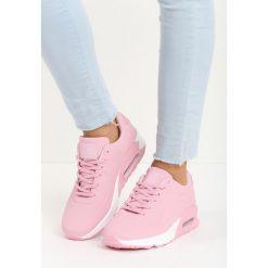 Różowe Buty Sportowe Cold Nights. Pomarańczowe buty sportowe damskie marki Born2be, z materiału. Za 79,99 zł.