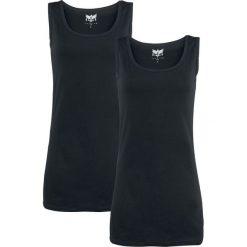 Topy damskie: Black Premium by EMP Dark And Long Top damski czarny