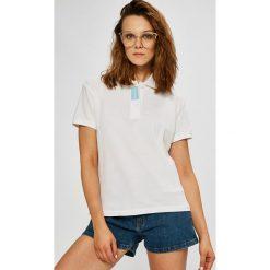 Calvin Klein Jeans - Top. Szare topy damskie Calvin Klein Jeans, l, z bawełny. W wyprzedaży za 159,90 zł.