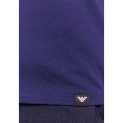 Emporio Armani LOGO Tshirt z nadrukiem blue caban. Szare koszulki polo marki Emporio Armani, l, z bawełny, z kapturem. Za 339,00 zł.