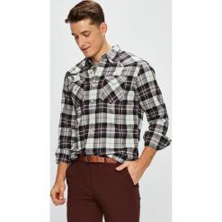 Levi's - Koszula. Brązowe koszule męskie na spinki Levi's®, l, w kratkę, z bawełny, z klasycznym kołnierzykiem, z długim rękawem. Za 299,90 zł.