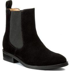 Sztyblety VAGABOND - Ava 4243-440-20 Black. Czarne buty zimowe damskie marki Vagabond, ze skóry, na obcasie. W wyprzedaży za 399,00 zł.
