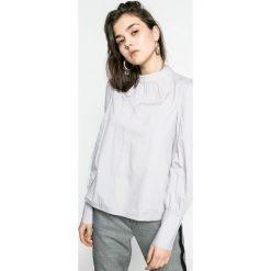 Vero Moda - Bluzka. Niebieskie bluzki z odkrytymi ramionami marki ARTENGO, z elastanu, ze stójką. W wyprzedaży za 59,90 zł.