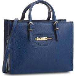 Torebka CREOLE - K10533 Granatowy. Niebieskie torebki klasyczne damskie Creole, ze skóry. W wyprzedaży za 209,00 zł.