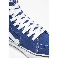 Vans SK8 Tenisówki i Trampki wysokie estate blue/true white. Szare tenisówki damskie marki Vans, z materiału. Za 379,00 zł.