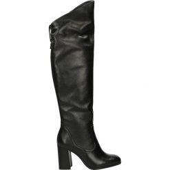 Kozaki - 6475 PEL NERO. Czarne buty zimowe damskie Venezia, ze skóry. Za 329,00 zł.