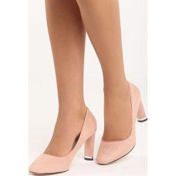 Różowe Czółenka All Day. Czerwone buty ślubne damskie marki Born2be, na obcasie. Za 69,99 zł.
