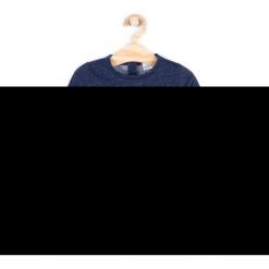 Bluza. Niebieskie bluzy dziewczęce rozpinane MAGIC IS ALL AROUND, z aplikacjami, z bawełny, z długim rękawem, długie. Za 29,90 zł.